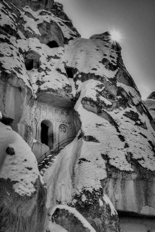 beckshein:  Snow in Göreme, Cappadocia, Turkey