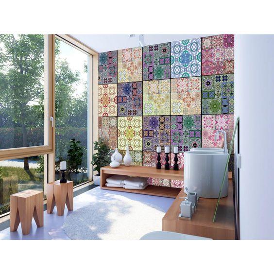 Papiers peints façonnés Magma - Découvrez des décorations audacieuses pour votre intérieur #papierspeints #papierpeint #homedecor #home #arrangement #intérieurs #décorations #décomurale