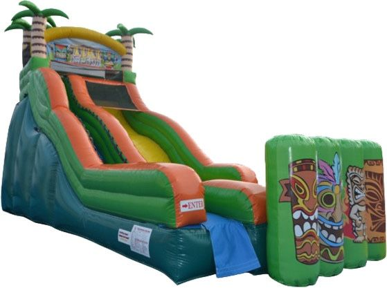 400 Carnival Food 2 Rides Clown Game Party In 2020 Water Slides Inflatable Slide