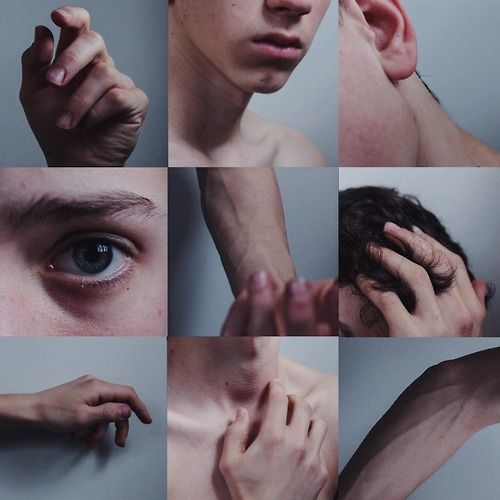 humans nature; i.e. messy hair, chapped lips, tainted skin, freckles, veins, bones, bruises, scars. we only have flaws if they are perceived that way.