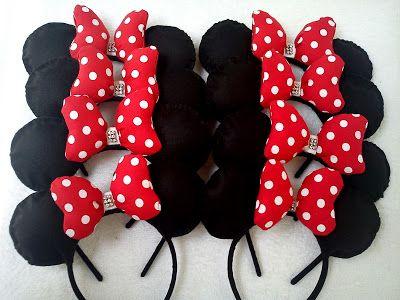 Ju Rosas : Sugestão Festa Minnie vermelha: