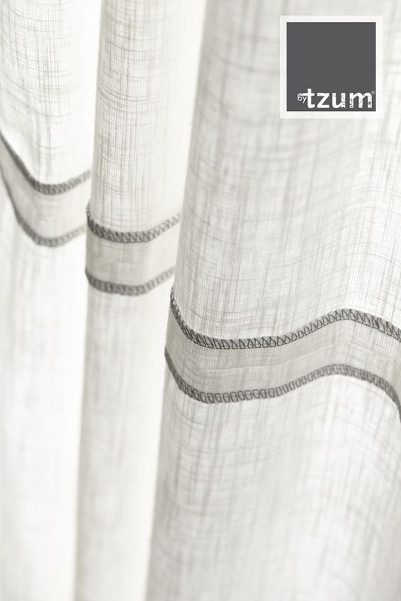 Original #curtains for an easy lifestyle. Puur, fris en natuurlijk ...