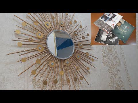 فكرة راقية لمشروع مربح مرآة الشمس بطريقة سهلة و جديدةdiy Decoration Youtube In 2021 Home Decor Mirror Decor