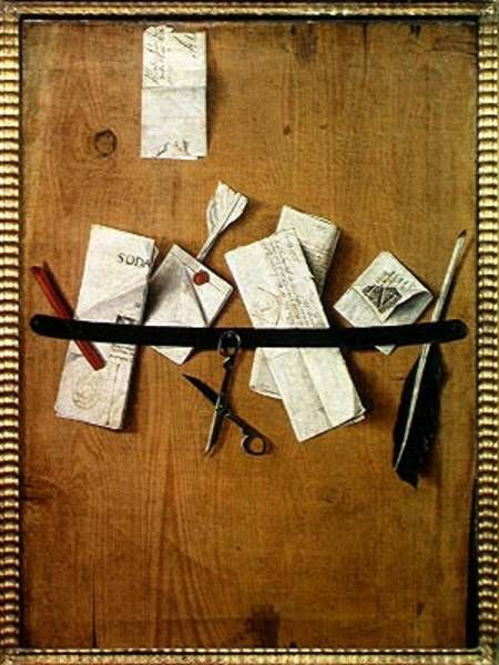 Bild:  Jean-Francois de la Motte - Trompe L'Oeil Still Life