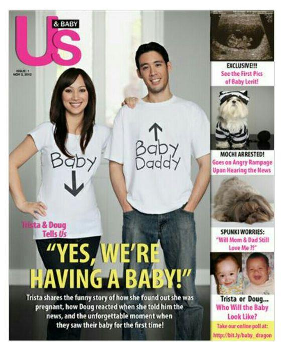Birth announcement fake magazine cover Baby – Pinterest Birth Announcement