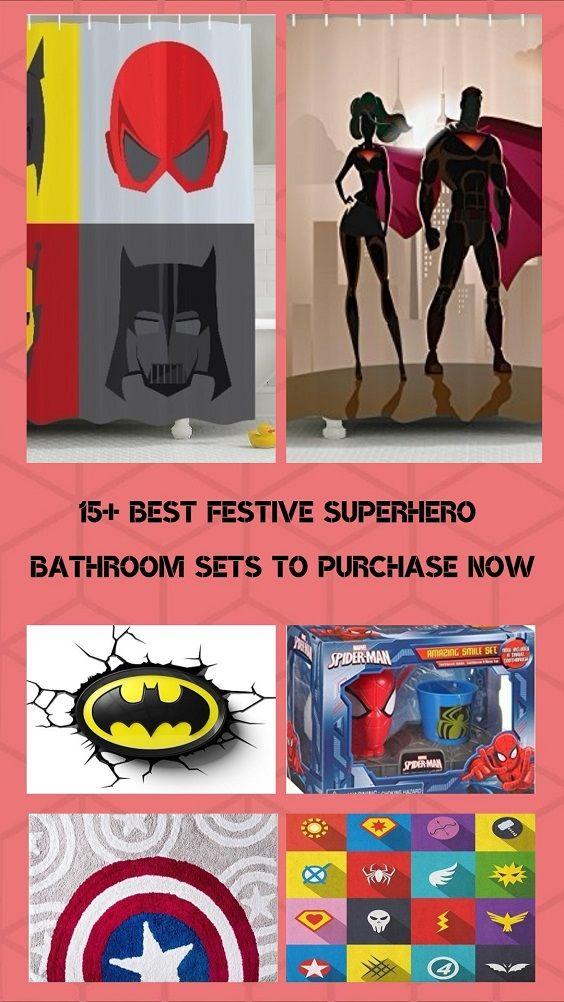 15 Best Festliche Superhero Badezimmer Sets Jetzt Kaufen Badezimmer