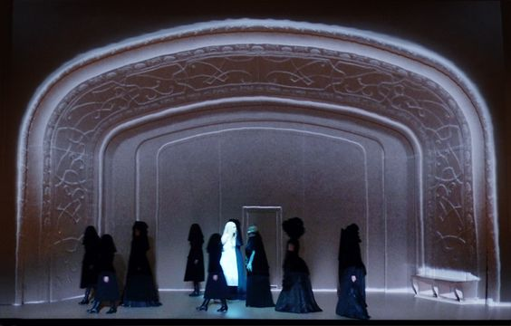 Klaus Grünberg, Bühnenbild und Licht: RUSALKA, Komische Oper Berlin, Barrie Kosky, 2011
