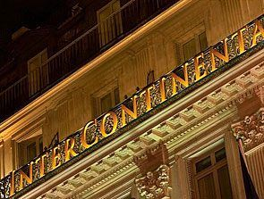 One of my favourite hotels in the world, the InterContinental Paris Le Grand (if only I could afford to visit often).