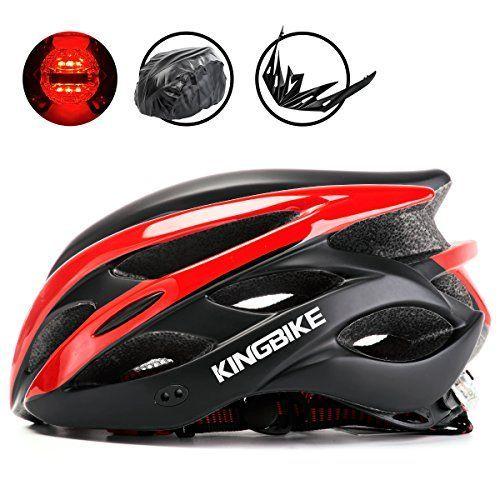 Kingbike Lightweight Cycling Bike Helmet Rain Cover Detachable