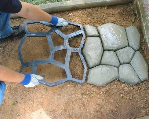 Shop Quikrete Walkmaker Country Stone Pattern Concrete Mold At
