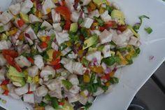 Mango rockfish ceviche.  MUST TRY