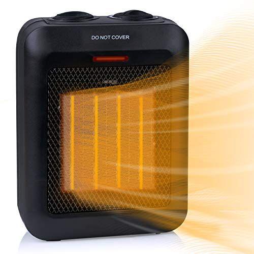 Space Heater, 1500W Ceramic Electric