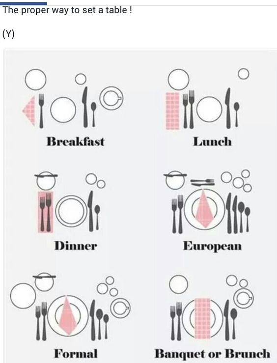 Setting a table« #wedding #weddinginspiration