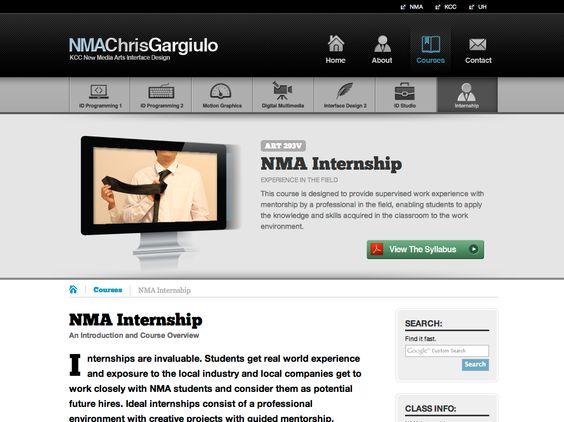Art 293v Internship Site Internship Work Experience New Media Art