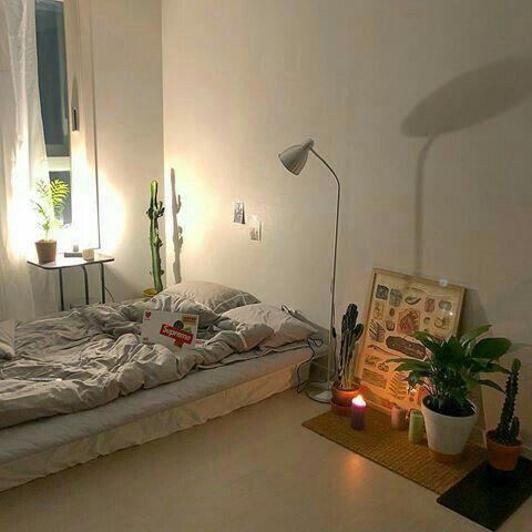 彡pinterest hoeforyanjun彡 寝室インテリアのアイデア インテリア 1ldk ひとり暮らし 部屋
