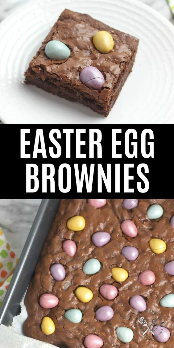 Chocolate Easter Egg Brownies Recipe