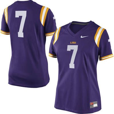 on sale 81035 ca804 mens lsu tigers 7 lefournette white 2015 college football ...