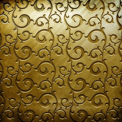 Gold pattern | Gold copperplate pattern engraved hd picture 1 Free Photos for free ...