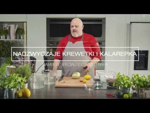 Krewetki Z Kalarepa Przepis Sous Vide Marco Ghia Laica Polska Youtube Sous Vide Polska Marco