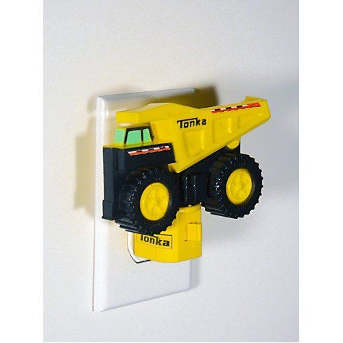 Tonka Dump Truck Night Light Yellow Big Wheel Safety and Security Cool to Touch:Amazon:Home Improvement