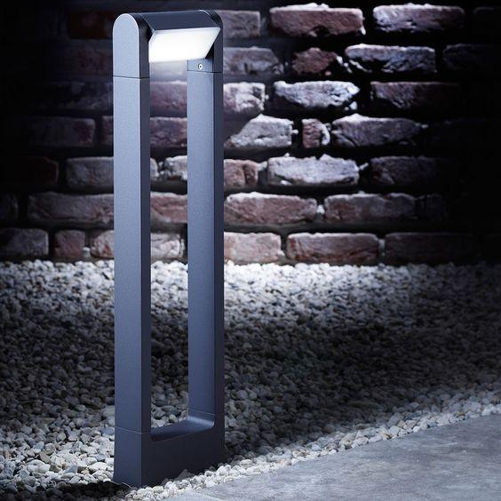 skapetze bollard led au en pollerleuchte 65 cm 360. Black Bedroom Furniture Sets. Home Design Ideas