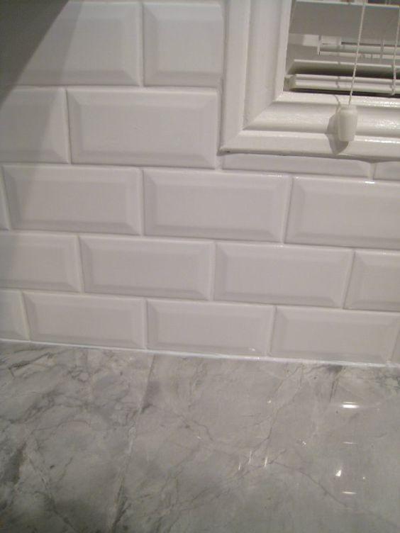Beveled Subway Tile Interior Groupie Kitchen reveal