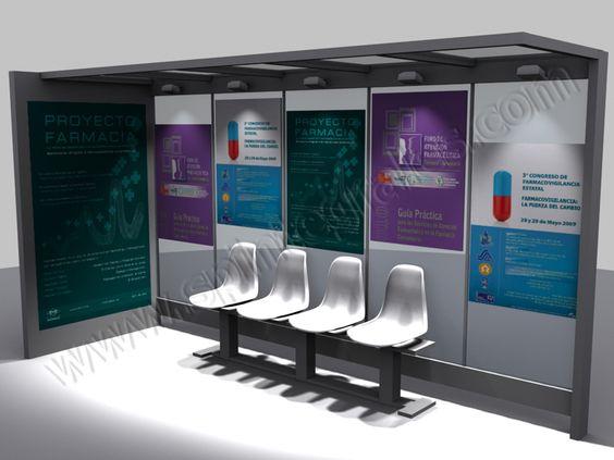 Presentación 3D para publicidad creativa | SP Integrales Presentación para publicidad en mobiliario urbano