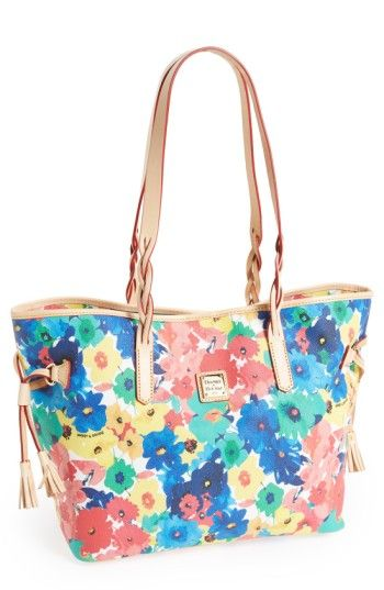 Free shipping and returns on Dooney & Bourke 'Bailey' Coated Canvas Tote at Nordstrom.com. A durable coated-canvas construction lends carefree convenience to a spacious tote blooming with whimsical, watercolor flowers.