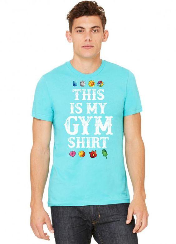 pokemon this is my gym shirt Tshirt