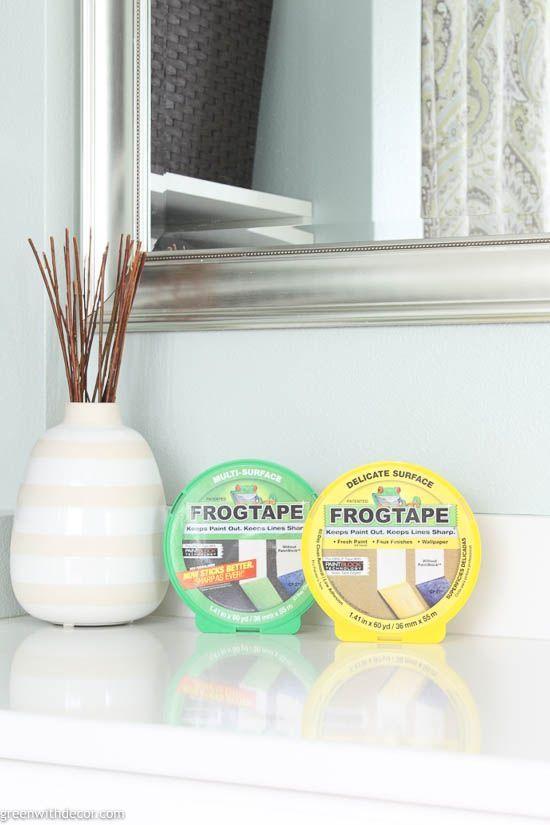 The Best Painters Tape For Clean Lines Painters Tape Diy Window Treatments Paint Line
