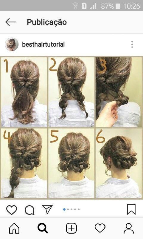 Einfach Und Suss Einfach Diyfrisuren Hair Styles Medium Length Hair Styles Medium Hair Styles