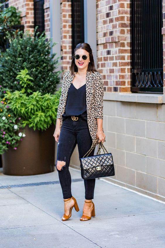 estilo casual com blazer jeitosos