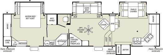 Pin On Campers Floor Plans