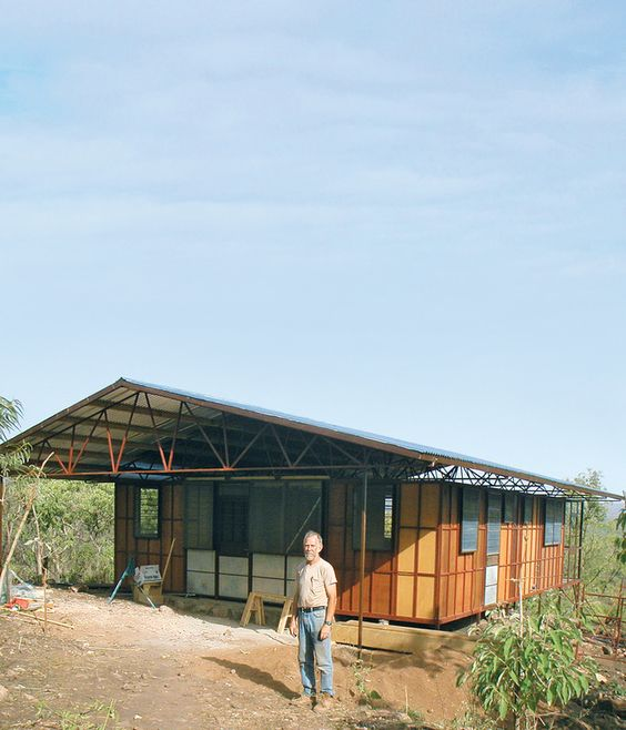 A recently completed modular unit in Ethiopia.
