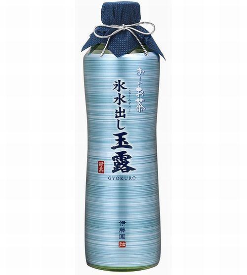 氷と水で抽出の「お〜いお茶」、瓶入り1000円のプレミアム緑茶飲料。   Narinari.com