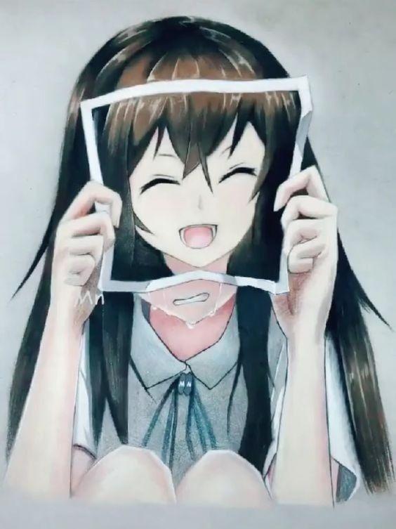 Pin Di Sad Anime Girls