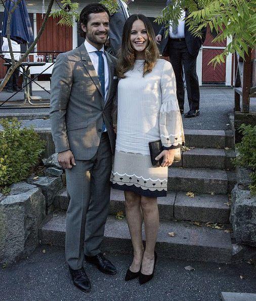 Swedish Prince Carl Philip and Princess Sofia attended Swedish Local Heritage Federation 100th anniversary.