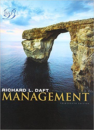 Test Bank Management 13th Edition By Richard L Daft Textbook Exams Test Bank Management Books Management
