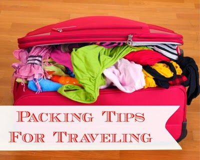 Easy packing tips for traveling.