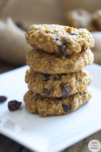 ... Dairy-Free Oatmeal Raisin Chocolate Chip Cookies (no refined sugar