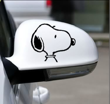 Snoopy Auto Sticker