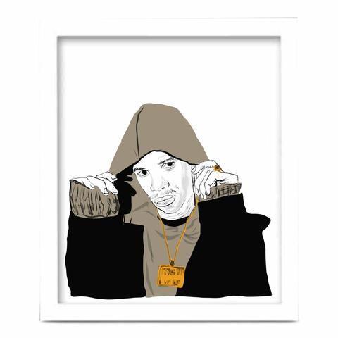 a boogie wit da hoodie art poster 6