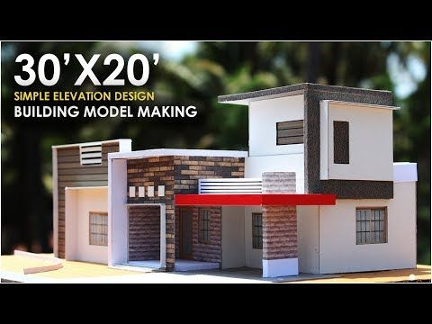 30x20 Small Residential Building 1bhk North East