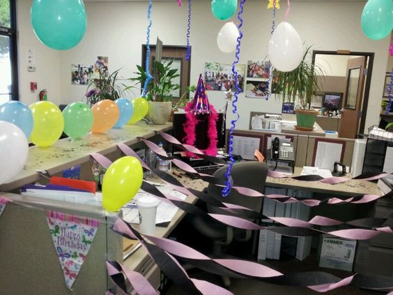Wonderful  Office Birthday On Pinterest  Cubicles Office Cubicles And Office
