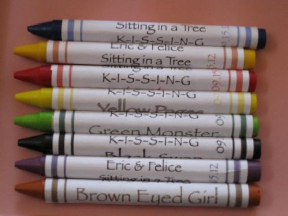 Kid's Crayons...what a GREAT idea!