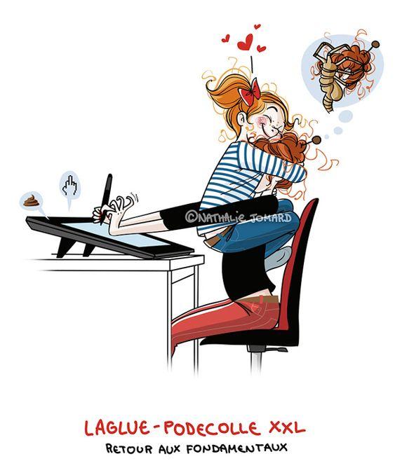 Petit précis de Grumeautique - Blog illustré: Laglue is back !