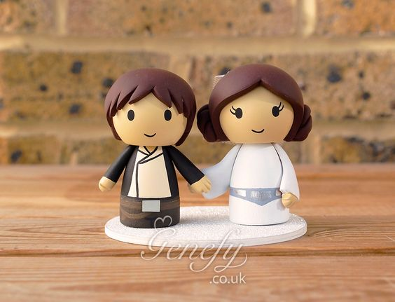Han Solo Empire Strikes Back and Princess Leia by Genefy Playground https://www.facebook.com/genefyplayground: