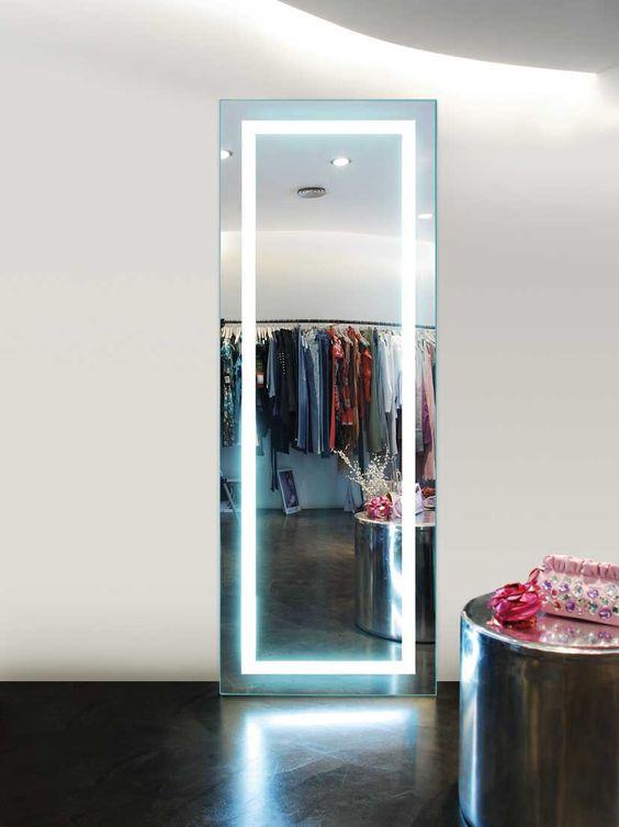 Espejos vestidor con luz aurora decoraci n beltr n tu - Espejos con luces ...