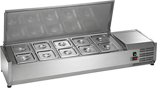 New Arctic Air Acp55 55 Refrigerated Countertop Condiment Prep