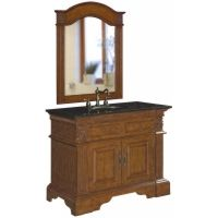 Belle Foret BF80040RFrench Country Single Basin Bathroom Vanity